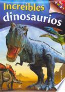 libro Increíbles Dinosaurios