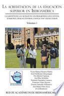 libro La Acreditación De La Educación Superior En Iberoamérica
