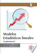 libro Modelos Estadísticos Lineales Con Aplicaciones En R