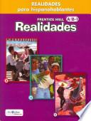 libro Prentice Hall Realidades Para Hispanohablantes Workbook Level A/b/1