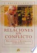 libro Relaciones Sin Conflicto