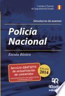libro Simulacros De Examen. Policía Nacional