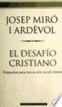libro El Desafío Cristiano