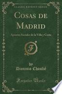 Cosas De Madrid