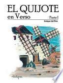 libro El Quijote En Verso Parte I