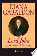 libro Lord John Y Un Asunto Privado