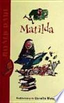 libro Matilda (biblioteca Roald Dahl)