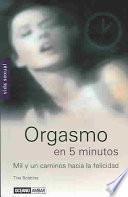 libro Orgasmo En 5 Minutos