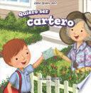 libro Quiero Ser Cartero (i Want To Be A Postman)