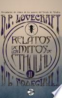 libro Relatos De Los Mitos De Cthulhu (2)