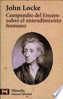 libro Compendio Del Ensayo Sobre El Entendimiento Humano