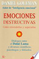 libro Emociones Destructivas