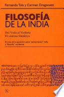 libro Filosofía De La India