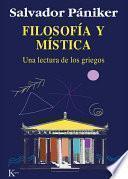 libro Filosofía Y Mística
