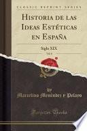 libro Historia De Las Ideas Estéticas En España, Vol. 8