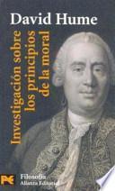 libro Investigación Sobre Los Principios De La Moral