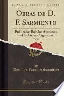libro Obras De D. F. Sarmiento, Vol. 43