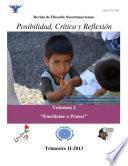 libro Posibilidad, Crítica Y Reflexión