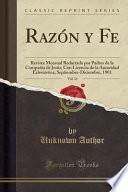 Razón Y Fe, Vol. 31