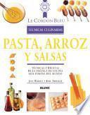 libro Pasta, Arroz Y Salsas