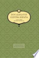 libro Dos Alegatos Contra España (vol. 3)