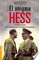 libro El Enigma Hess/ The Hess Enigma