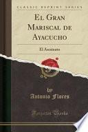 libro El Gran Mariscal De Ayacucho