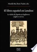 libro El Libro Español En Londres
