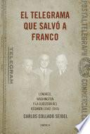 libro El Telegrama Que Salvó A Franco