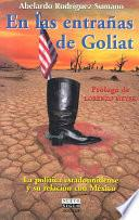 libro En Las Entrañas De Goliat