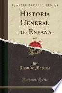libro Historia General De España, Vol. 5 (classic Reprint)