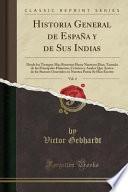 libro Historia General De España Y De Sus Indias, Vol. 4
