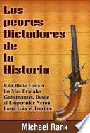 libro Los Peores Dictadores De La Historia