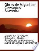 libro Obras De Miguel De Cervantes Saavedra