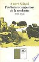 libro Problemas Campesinos De La Revolución, 1789 1848