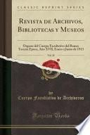 libro Revista De Archivos, Bibliotecas Y Museos, Vol. 28