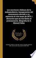 libro Spa Escritores Chilenos De La