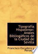 libro Tipografia Hispalense