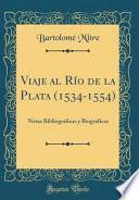 libro Viaje Al Río De La Plata (1534-1554)