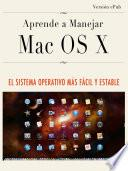libro Aprende A Manejar Mac Os X