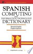 Computar De Espanol Y Diccionario De Technologia De Informacion