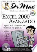 libro Dr Max: Excel 2000 Avanzado