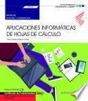 libro Manual. Aplicaciones Informáticas De Hojas De Cálculo (transversal: Uf0321). Gestión Integrada De Recursos Humanos (adgd0208). Certificados De...
