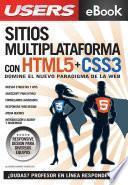 libro Sitios Multiplataforma Con Html5 + Css3