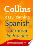libro Collins Easy Learning Spanish Grammar And Practice