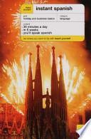 libro Instant Spanish