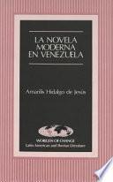 libro La Novela Moderna En Venezuela