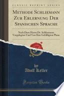 libro Methode Schliemann Zur Erlernung Der Spanischen Sprache