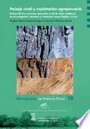 libro Paisaje Rural Y Explotación Agropecuaria: Léxico De Los Recursos Naturales Y De La Vida Cotidiana En El Aragonés, Navarro Y Romance Vasco, S. Xiii Xvi