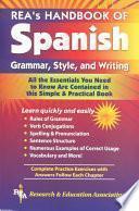 libro Rea S Handbook Of Spanish Grammar, Style And Writing